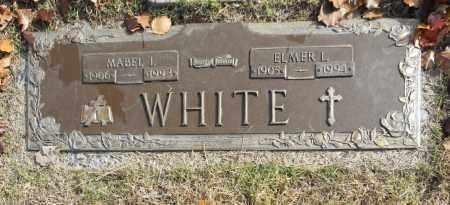 WHITE, ELMER L - Washington County, Oklahoma | ELMER L WHITE - Oklahoma Gravestone Photos