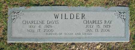 WILDER, CHARLES RAY - Washington County, Oklahoma   CHARLES RAY WILDER - Oklahoma Gravestone Photos