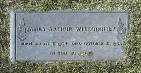 WILLOUGHBY, JAMES ARTHUR - Washington County, Oklahoma | JAMES ARTHUR WILLOUGHBY - Oklahoma Gravestone Photos