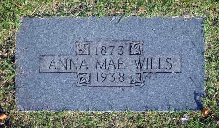 WILLS, ANNA MAE - Washington County, Oklahoma | ANNA MAE WILLS - Oklahoma Gravestone Photos