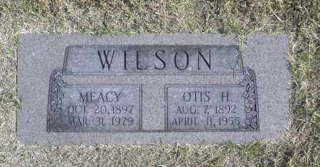 WILSON, OTIS H - Washington County, Oklahoma | OTIS H WILSON - Oklahoma Gravestone Photos