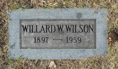 WILSON, WILLARD W - Washington County, Oklahoma | WILLARD W WILSON - Oklahoma Gravestone Photos
