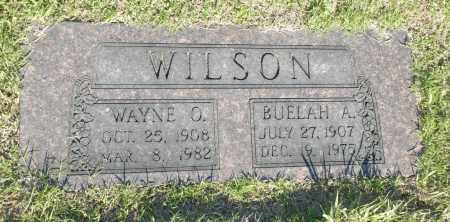 WILSON, WAYNE O - Washington County, Oklahoma | WAYNE O WILSON - Oklahoma Gravestone Photos