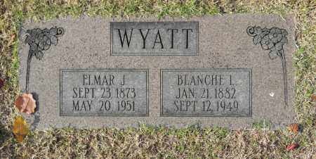 WYATT, ELMAR J - Washington County, Oklahoma | ELMAR J WYATT - Oklahoma Gravestone Photos