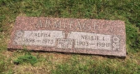 ARMITAGE, NELLIE - Washita County, Oklahoma   NELLIE ARMITAGE - Oklahoma Gravestone Photos