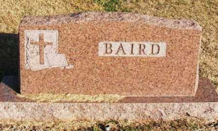 BAIRD, ALBERT W - Washita County, Oklahoma   ALBERT W BAIRD - Oklahoma Gravestone Photos
