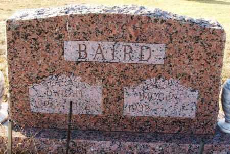 BAIRD, IMOGENE - Washita County, Oklahoma | IMOGENE BAIRD - Oklahoma Gravestone Photos