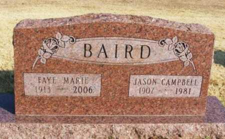 BAIRD, FAYE MARIE - Washita County, Oklahoma   FAYE MARIE BAIRD - Oklahoma Gravestone Photos
