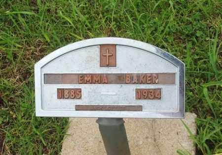 BAKER, EMMA - Washita County, Oklahoma   EMMA BAKER - Oklahoma Gravestone Photos