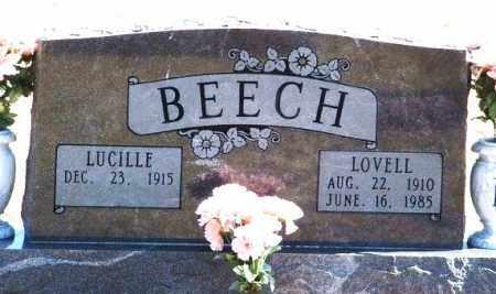 BEECH, LUCILLE - Washita County, Oklahoma | LUCILLE BEECH - Oklahoma Gravestone Photos