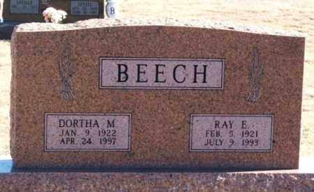 BEECH, RAY E - Washita County, Oklahoma | RAY E BEECH - Oklahoma Gravestone Photos