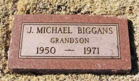BIGGANS, J MICHAEL - Washita County, Oklahoma   J MICHAEL BIGGANS - Oklahoma Gravestone Photos