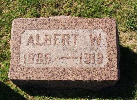 BINGENHEIMER, ALBERT W - Washita County, Oklahoma | ALBERT W BINGENHEIMER - Oklahoma Gravestone Photos