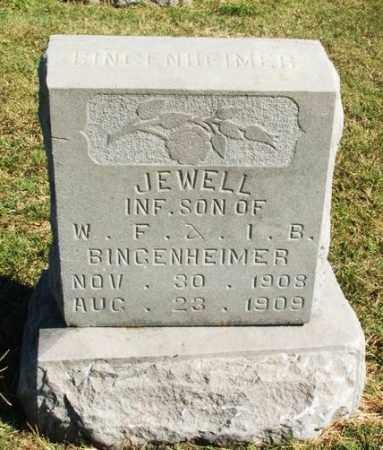 BINGENHEIMER, JEWELL - Washita County, Oklahoma | JEWELL BINGENHEIMER - Oklahoma Gravestone Photos