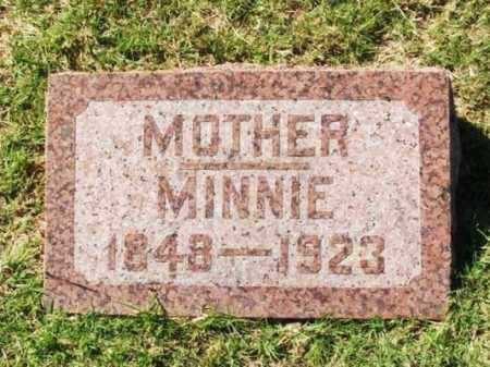 BINGENHEIMER, MINNIE - Washita County, Oklahoma | MINNIE BINGENHEIMER - Oklahoma Gravestone Photos