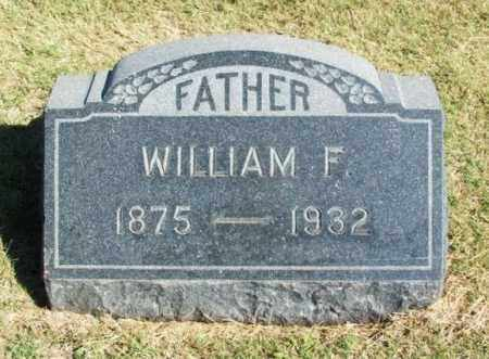 BINGENHEIMER, WILLIAM F - Washita County, Oklahoma   WILLIAM F BINGENHEIMER - Oklahoma Gravestone Photos