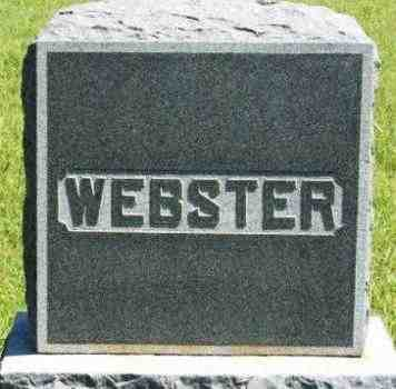 WEBSTER, SURNAME STONE - Washita County, Oklahoma | SURNAME STONE WEBSTER - Oklahoma Gravestone Photos