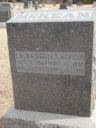 MCKEAN, LAURA V - Woods County, Oklahoma | LAURA V MCKEAN - Oklahoma Gravestone Photos