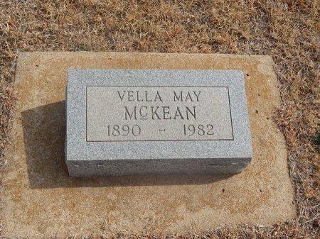 MCKEAN, VELLA MAY - Woods County, Oklahoma | VELLA MAY MCKEAN - Oklahoma Gravestone Photos