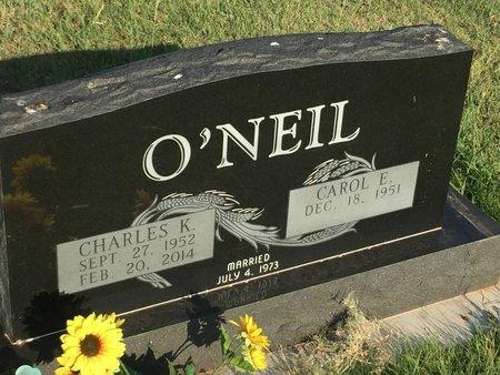 O'NEIL, CHARLES K - Woods County, Oklahoma | CHARLES K O'NEIL - Oklahoma Gravestone Photos
