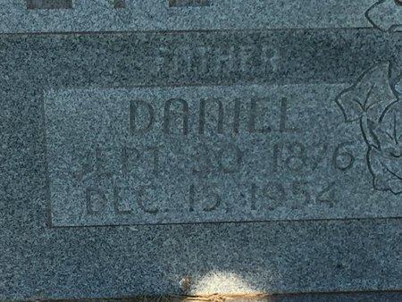 O'NEIL, DANIEL (CLOSE-UP) - Woods County, Oklahoma | DANIEL (CLOSE-UP) O'NEIL - Oklahoma Gravestone Photos