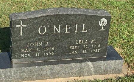 O'NEIL, LELA M - Woods County, Oklahoma | LELA M O'NEIL - Oklahoma Gravestone Photos