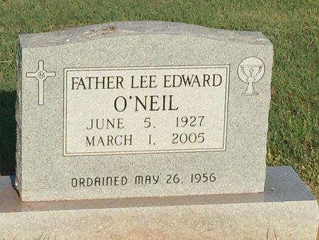 O'NEIL, LEE EDWARD (PRIEST) - Woods County, Oklahoma | LEE EDWARD (PRIEST) O'NEIL - Oklahoma Gravestone Photos