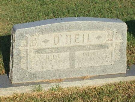 O'NEIL, NORA AND DANIEL - Woods County, Oklahoma | NORA AND DANIEL O'NEIL - Oklahoma Gravestone Photos