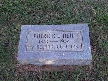 O'NEIL, PATRICK - Woods County, Oklahoma | PATRICK O'NEIL - Oklahoma Gravestone Photos