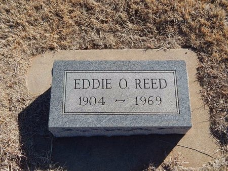 REED, EDDIE O - Woods County, Oklahoma | EDDIE O REED - Oklahoma Gravestone Photos