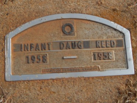 REED, INFANT DAUGHTER - Woods County, Oklahoma | INFANT DAUGHTER REED - Oklahoma Gravestone Photos