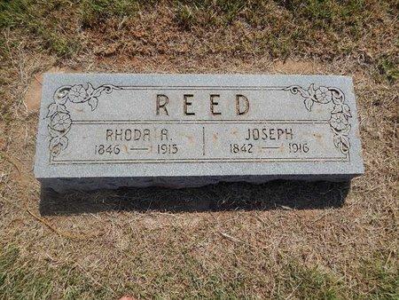 REED, RHODA A - Woods County, Oklahoma | RHODA A REED - Oklahoma Gravestone Photos