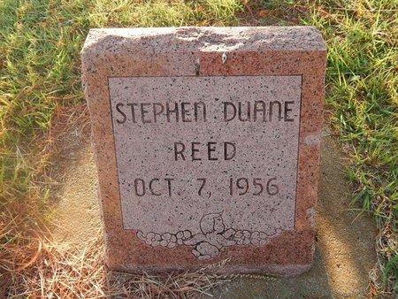 REED, STEPHEN DUANE - Woods County, Oklahoma | STEPHEN DUANE REED - Oklahoma Gravestone Photos