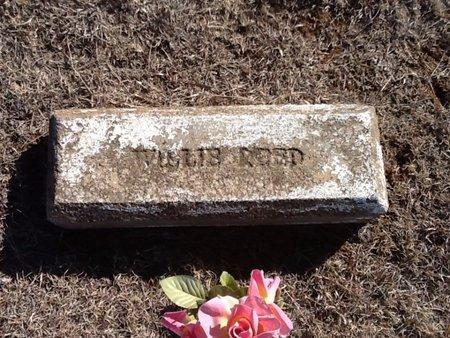 REED, WILLIE - Woods County, Oklahoma | WILLIE REED - Oklahoma Gravestone Photos
