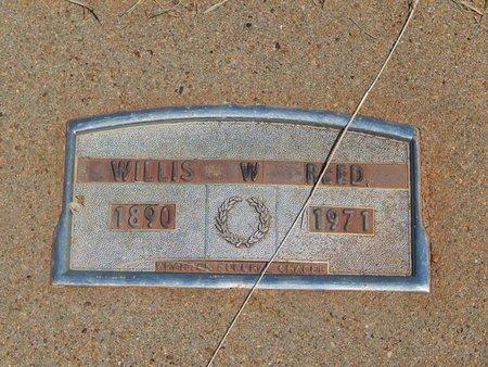 REED, WILLIS W - Woods County, Oklahoma   WILLIS W REED - Oklahoma Gravestone Photos