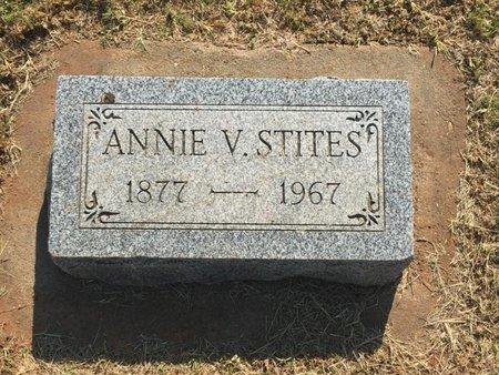 STITES, ANNIE V - Woods County, Oklahoma | ANNIE V STITES - Oklahoma Gravestone Photos