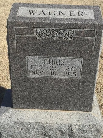 WAGNER, CHRIS - Woods County, Oklahoma | CHRIS WAGNER - Oklahoma Gravestone Photos