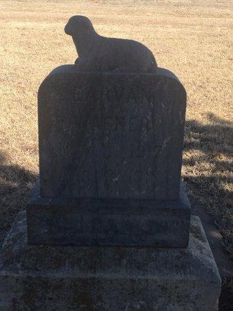 WAGNER, EARVAN - Woods County, Oklahoma | EARVAN WAGNER - Oklahoma Gravestone Photos