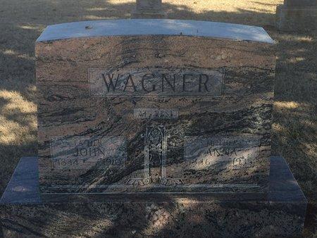 WAGNER, ANNA - Woods County, Oklahoma | ANNA WAGNER - Oklahoma Gravestone Photos