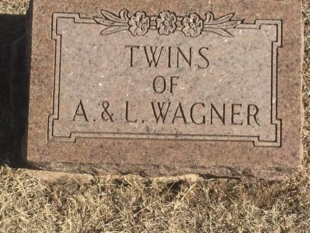 WAGNER, TWINS - Woods County, Oklahoma | TWINS WAGNER - Oklahoma Gravestone Photos
