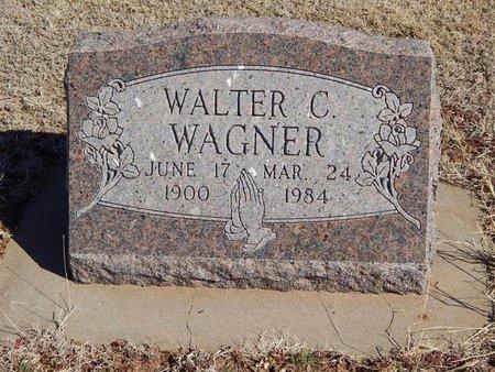 WAGNER, WALTER C - Woods County, Oklahoma | WALTER C WAGNER - Oklahoma Gravestone Photos