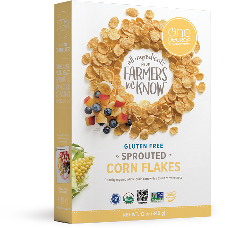Sprouted Corn Flakes - One Degree Organics