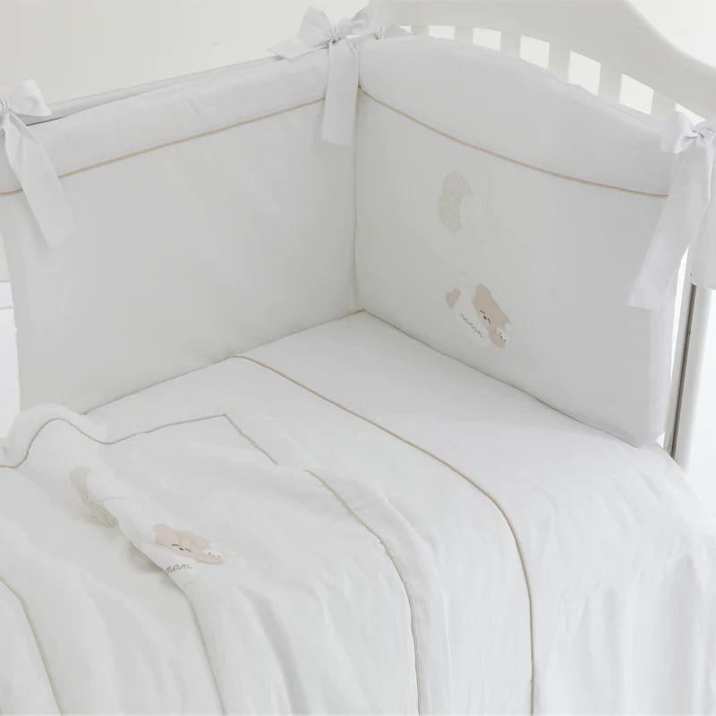 Set Piumone e Paracolpi Nanán NANAN | Set piumone letto 4pezzi | 50217B00