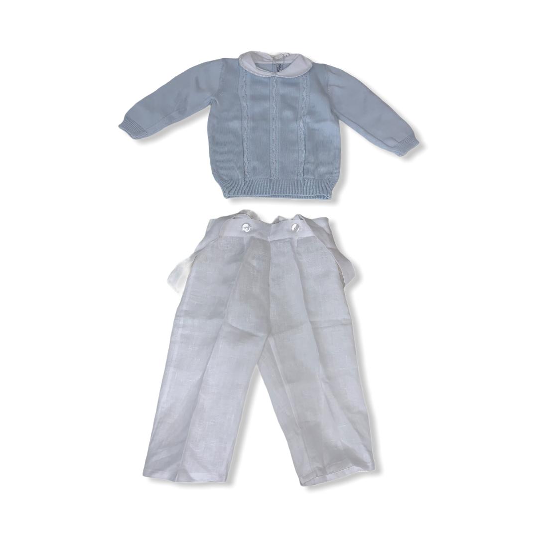 Completo Bebè di Almy BEBE' DI ALMY | Salopette | 2P33MASC-0400