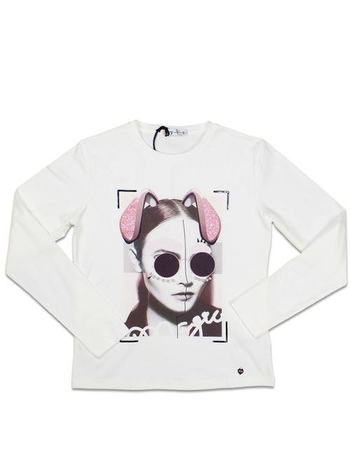 T-shirt Manica Lunga Girocollo Ragazza TO BE TOO | T-shirt | TBT49500