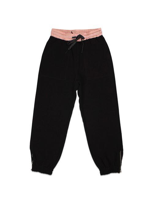 JOGGERS BLACK TO BE TOO   Pantalone   TBT50900