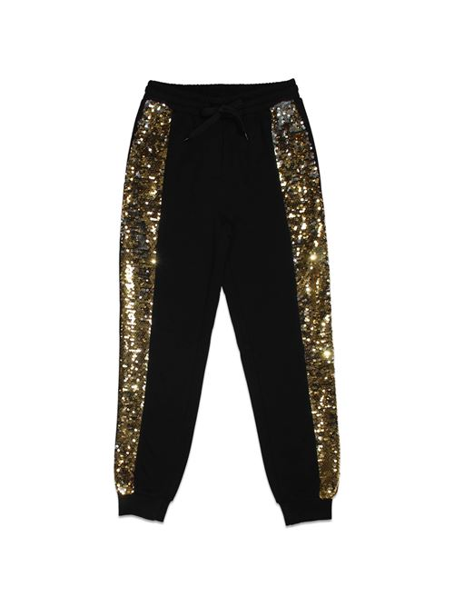 JOGGERS PAILLETTES TO BE TOO   Pantalone   TBT55400