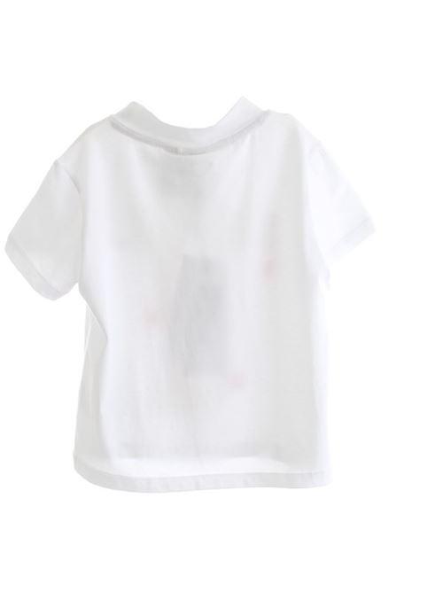 T-SHIRT BIANCO/FUXIA FLUO GAELLE | T-shirt | 2746M012300