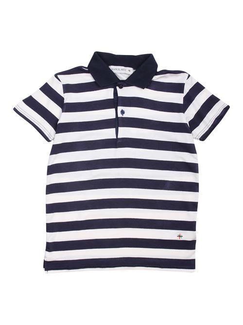Polo blu Manuel Ritz MANUEL RITZ | Polo | MR065000