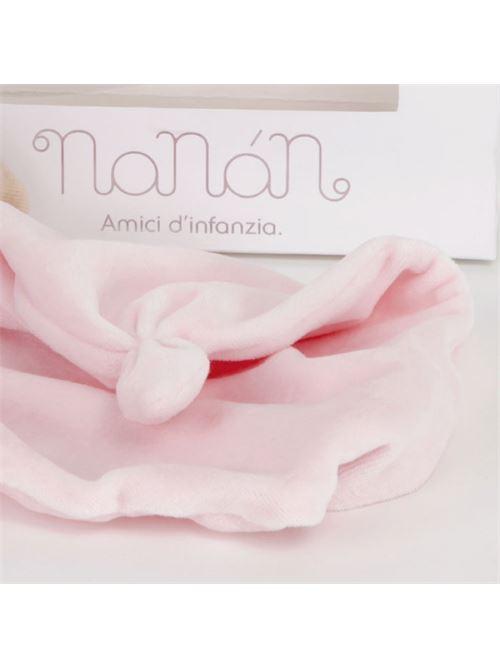 Fazzoletto per dentini Puccio Rosa NANAN | Doudou | 1269R